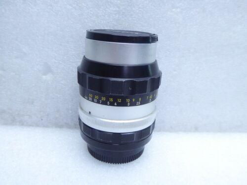Nippon Kogaku Japan Nikkor-P Auto 1:2.5 f=105 mm Lens