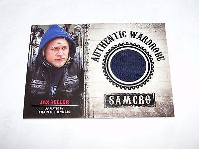 2014 Sons Of Anarchy Jax Teller  M01 Worn Samcro Wardrobe Swatch Charlie Hunnam