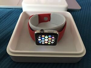 Apple Watch series 1 stainless Caulfield Glen Eira Area Preview