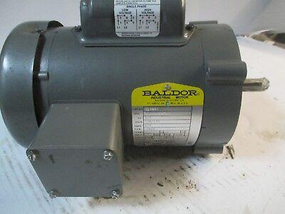 Baldor Industrial Motor 13 Hp 1725 Rpm 115230 V