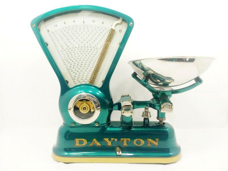 Antique General Store Countertop DAYTON Scale; Model # 166 - Restored - 2lb max
