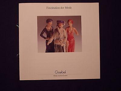 Faszination der Mode -  Katalog von Goebel - Hände machen Goebel