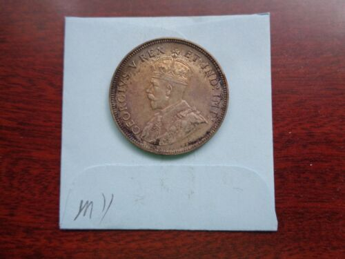 1924 East Africa 1 Shilling Silver coin