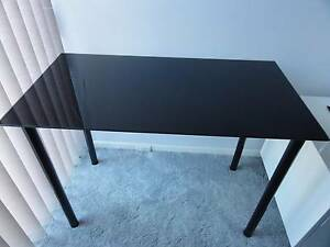 Black Glass Side or Hall Table Morley Bayswater Area Preview