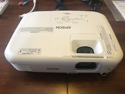 Epson Powerlite Home Cinema 500 projector (used)