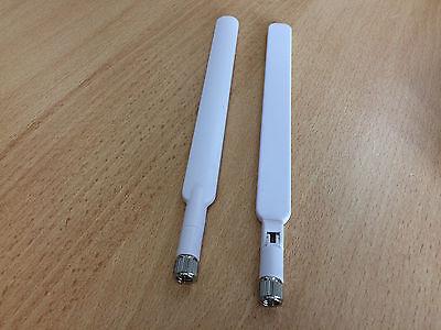 2 LTE Antennen für Telekom Speedport ROUTER  LTE 2 /II Huawei B593/4G/3G