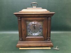 Seth Thomas Talley Wooden Table Mantel Clock~ Multi Chimes ~Westminster ~ Etc.