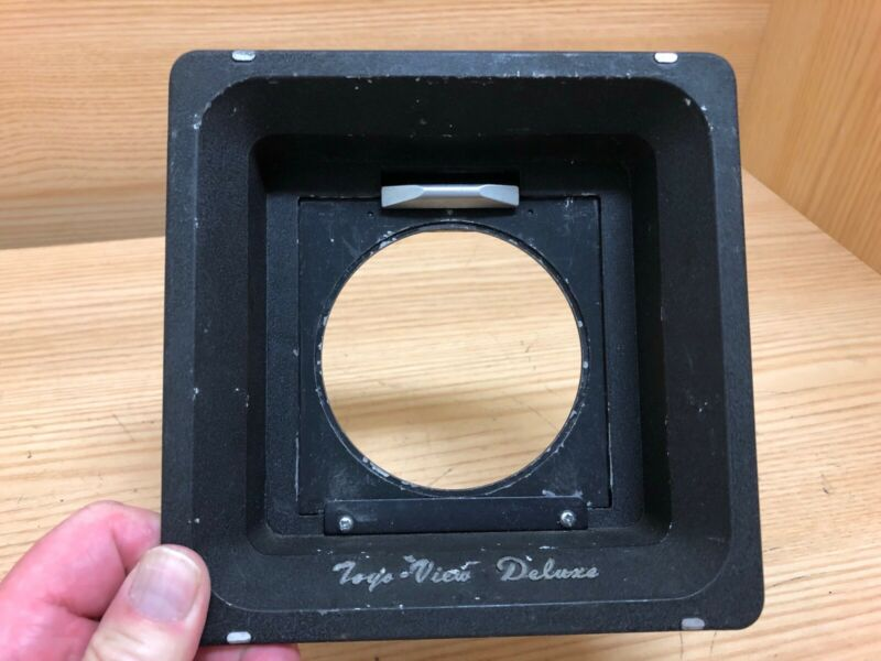 *Exc+4* Toyo View Deluxe Recessed Lens Board Adapter For Toyo 4x5 From Japan