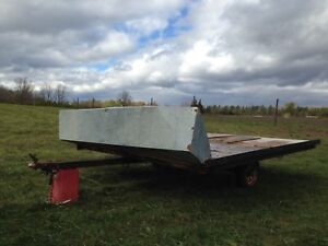 Snowmobile/Atv trailer double wide with tilt