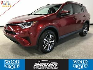 2018 Toyota RAV4 LE AWD, REARVIEW CAMERA, SAFETY ASSIST SYSTEMS
