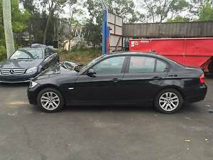 BMW 3-Series Sedan bmw 320i e90 black BMW 320I E90 BLACK 4 PARTS Northmead Parramatta Area Preview