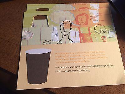 2 Starbucks Free Drink Coupons
