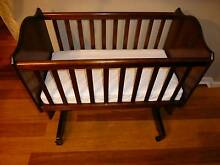 Boori Country Collection Wooden Rocking Cradle Bassinet Rocker Faulconbridge Blue Mountains Preview