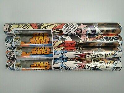 Disney STAR WARS Wallpaper - 4 X Rolls - Pop Art - Comic Book - Graham Brown