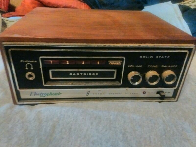 Electronic 8 Track Players