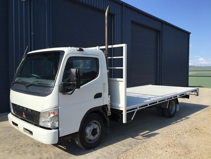 2007 MITSUBISHI FUSO CANTER 4.0 TRUCK NEW 5.4m LONG TRAY Mudgee Mudgee Area Preview