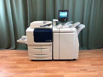 Xerox D125 Fast 125 Ppm Black White Copier Printer Scanner Low Meter 1.4 Mil