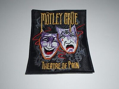 Motley Crue Theatre Of Pain Embroidered Patch