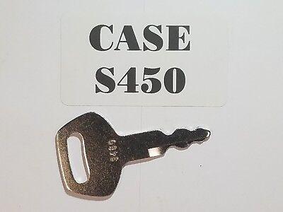1 Case Key Will Fit Linkbelt Jcb Sumitomo Excavators Ignition Key S450