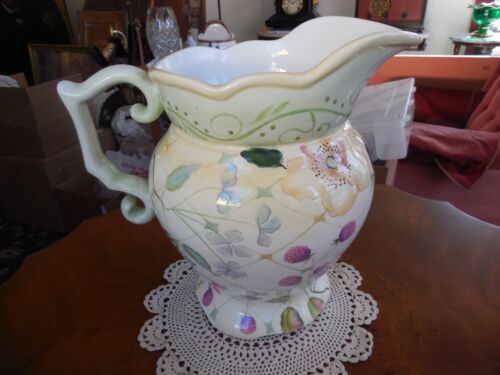 """TRACY PORTER - EVELYN COLLECTION - LARGE PITCHER - 10"""" T"""