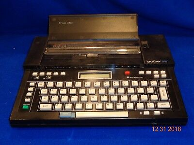Vintage Brother Travel-riter Word Processor Electronic Typewriter Ep41 Ep-41