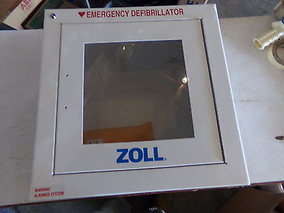 Zoll Standard Metal Wall Cabinet- With Alarm  8000-0855- New