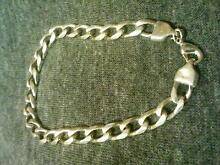 Mens solid Silver Braclet Marangaroo Wanneroo Area Preview