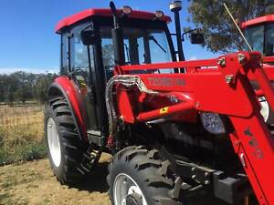 YTO Tractor –  X704 Cab – 4WD – 70HP – FRONT END LOADER. Excl. GST Llandilo Penrith Area Preview
