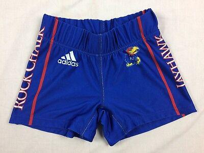 (adidas Kansas Jayhawks - Blue Poly Shorts (XS) - Used)