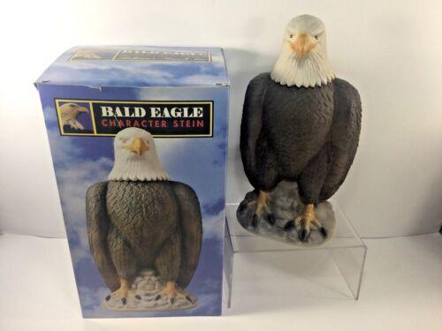 "1997, 10.5"", Anheuser-Busch Collection, Lidded American Bald Eagle Stein, CS326"
