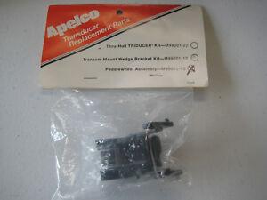 Apelco Raytheon Transom Transducer Paddlewheel Kit M99001-10 Airmar 33-105