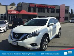 2018 Nissan Murano SL w/leather, NAV, Roof