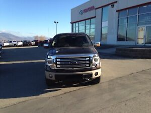 2014 Ford F150 Lariat,  4x4 Crew Cab with 5' box and Canopy