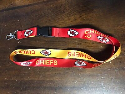 Kansas City Chiefs Lanyard Football Nfl New Mahomes Hill Kelce Clip Detachable - Kansas City Chiefs Lanyard