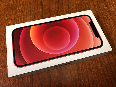  Mint  iPhone 12 64GB Red Unlocked AT&T Verizon T-mobile GSM/CDMA 100% battry