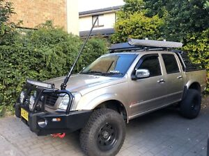 2005 Holden Rodeo Lt (4x4) 4 Sp Automatic Crew Cab P/up