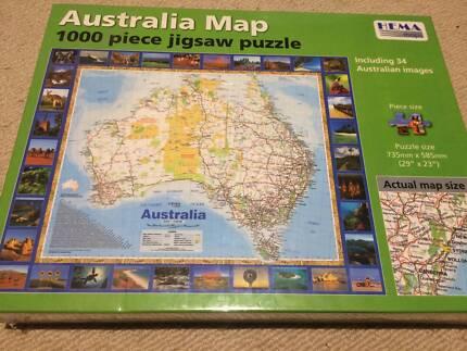 New 1000 Piece Australia Puzzle