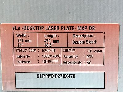 Polyester Plates Laser Plates 11 X 18.5 Hp5000 Xante 2 Sided