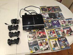 PS3 console  80GB Adelaide CBD Adelaide City Preview