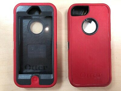 OtterBox Defender Series Case for iPhone 5 5s in Red / Black