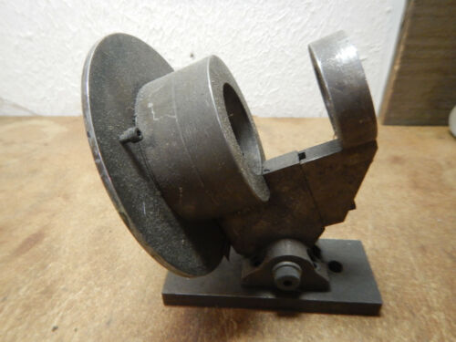 OLDER MACHINE SHOP MADE DRILL SHARPENING FIXTURE INCOMPLETE
