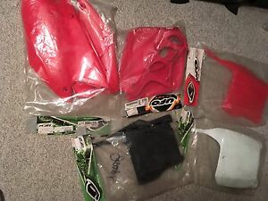 Brand new Honda dirt bike plastics(variety)
