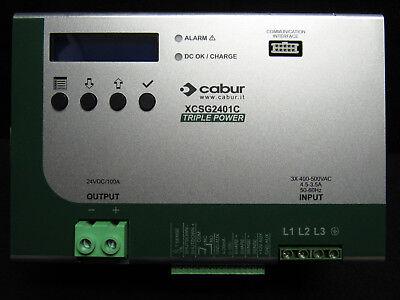 Cabur Power Supply Xcsg2401c 24vdc100a