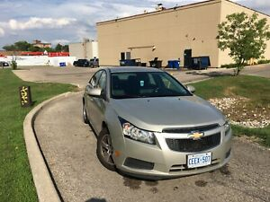 2013 Chevy Cruze LT 1.4 Turbo - Black Leather Seats