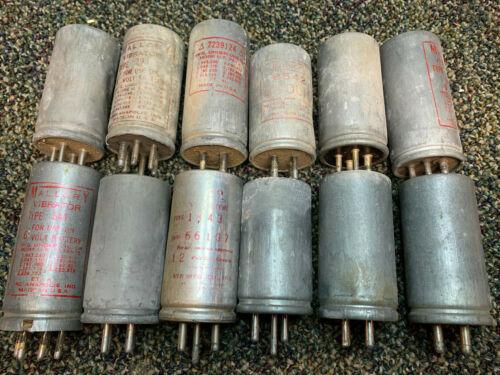 Lot of Antique Radio Vibrator Capacitors
