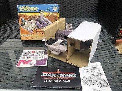 Vintage Star Wars DROIDS Side Gunner Vehicle Kenner 1985 MIOB  Good for UKG/AFA