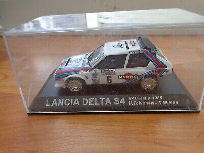 IXO DEAGOSTINI 1/43 LANCIA DELTA S4 RAC RALLY 1985 DIECAST CAR