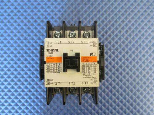 NOS Fuji Electric Magnetic Contactor SC-N3/SE 24VDC 50-60Hz