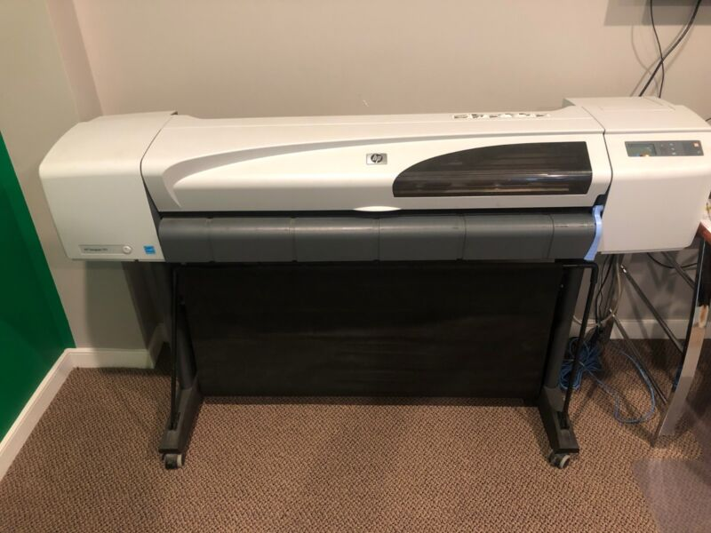 """HP Designjet 510 42"""" Wide Format Color Plotter With Stand"""