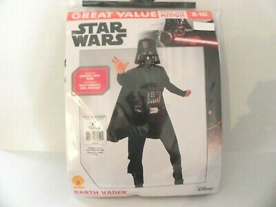 Star Wars Darth Vader Child Costume Muscle Chest Size M 8/10